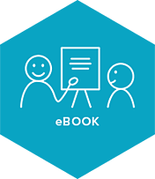 eBook illustratie blauw
